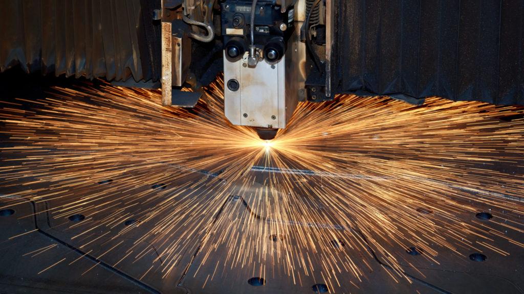 Dienstleister für Laserbeschriftung Laserschneidanlage