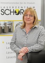 Geschäftsführerin Heike Schorcht